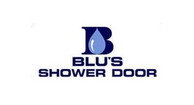 Blu's Shower Door logo