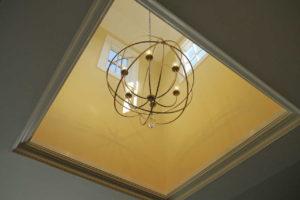 Detail of chandelier